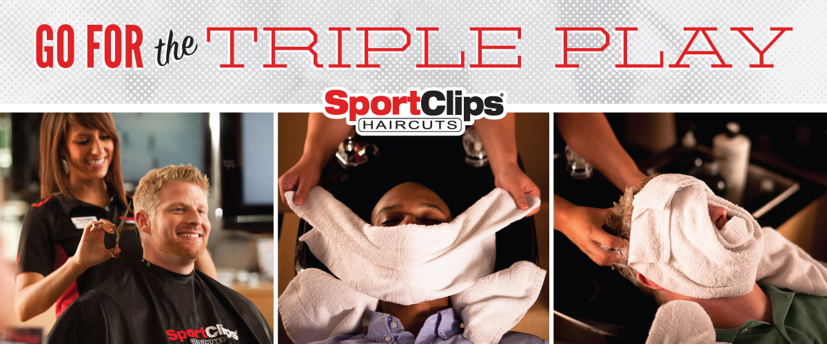 The Sport Clips Haircuts of Boardwalk Square Triple Play